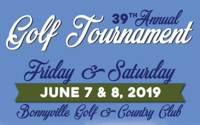 Join us for this Years 39th Annual Golf Tournament June 7-8, 2019!