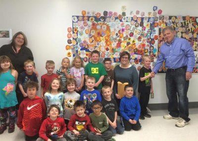 May 11, 2015: Kindergarten Kids from Notre Dame